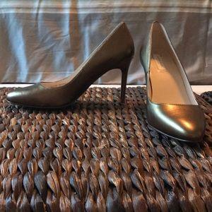 Cole Haan bronze heels size 6.